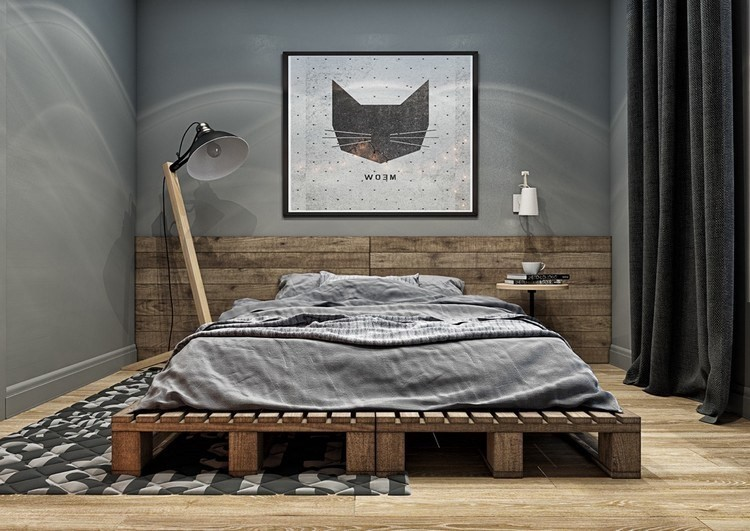 7 Desain Kamar Tidur Industrialis