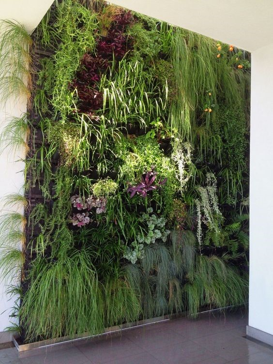 10+ INVENTIVE WAYS TO DECORATE INDOOR VERTICAL GARDEN #garden #gardening #gardeningideas