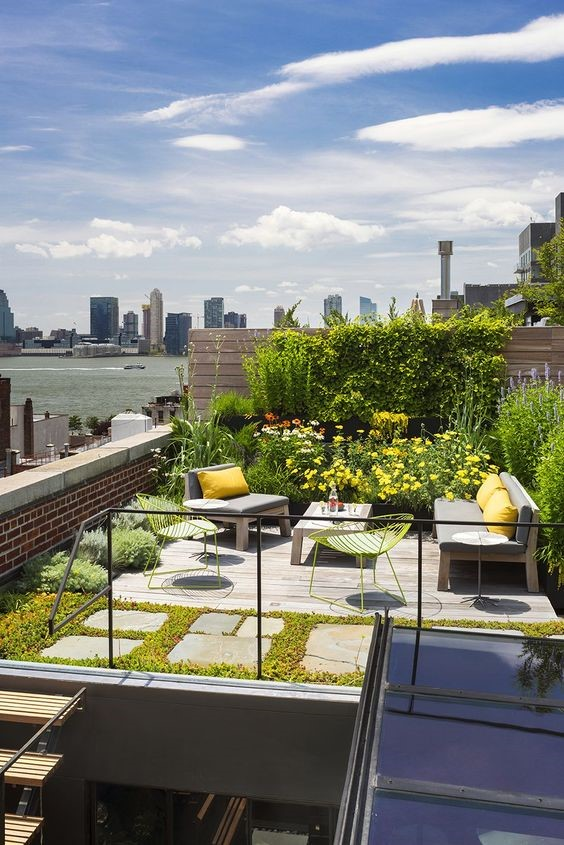 Un loft avec terrasse à Tribeca - PLANETE DECO a homes world